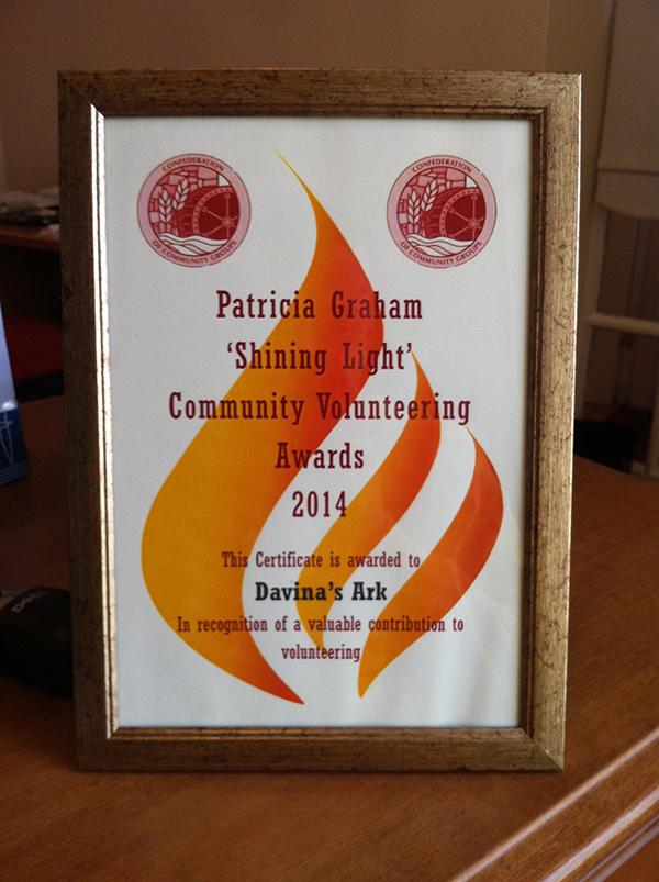 Shining Light award