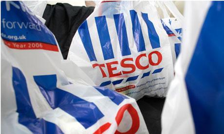 Tesco carrier bags