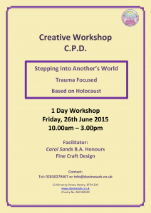 Creative CPD Workshop