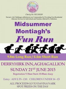 Montiagh Fun Run Poster